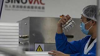 Sinovac'ın ürettiği CoronaVac aşısı