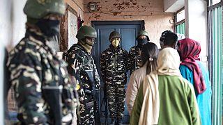 Keşmir'de Bölge Kalkınma Konseyi seçimi 28 Kasım'da başladı 19 Aralık'ta sona erdi