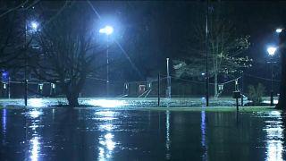 Überschwemmung in Bedford
