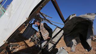 İsrail saldırısında Deyr el-Belah kentindeki bir kontrol noktası da vuruldu