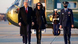 دونالد ترامپ و همسرش