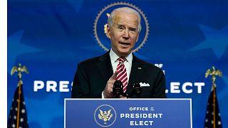 جو بایدن رئیس جمهور انتخابشده آمریکا