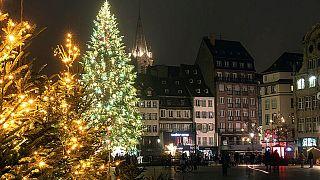 کریسمس در شهر استراسبورگ در شرق فرانسه
