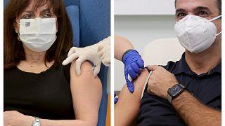 Εμβολιασμοί ΠτΔ και πρωθυπουργού