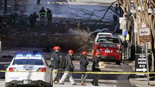 تقول الشرطة إنها عثرت على بقايا إنسانية في موقع الانفجار