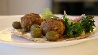 """Chapi es conocido por su hamburguesas, pero el plato """"falafel"""" también es una opción que agrada a todos los paladares. La carne es a base de saltamontes."""