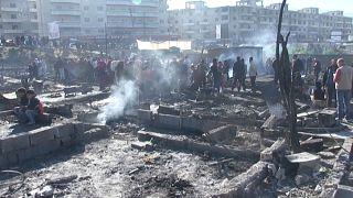 El incendio en un campo de refugiados en Líbano deja más de 350 evacuados y 3 heridos
