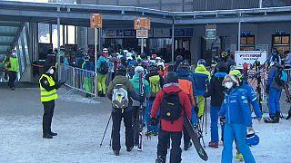 Des skieurs en Autriche