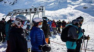 پیست اسکی در سوئیس