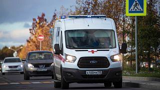 Russia ambulance (file photo)