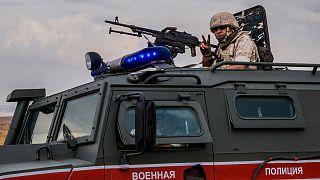 Türkiye sınırına yakın noktada görev yapan Rus askeri