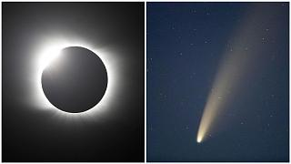2020 was full of amazing cosmic events, such as a total solar eclipse and the visit of Comet Neowise
