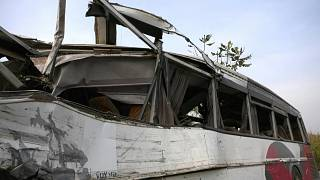 حادث مروري لحافلة وشاحنة في الكاميرون يودي بحياة 37 شخصا ويتسبب بجرح 18 آخرين