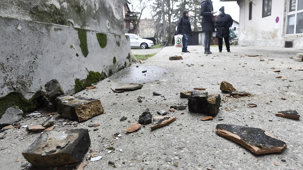 Eu Ready To Help After Earthquake Damages Buildings In Croatia News Akmi