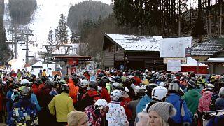 Украина: горнолыжный сезон открыт