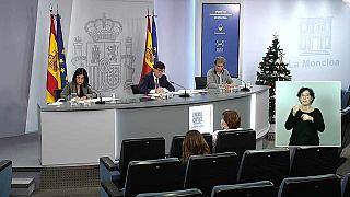 Rueda de prensa de las autoridades sanitarias españolas sobre la COVID-19