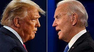 الرئيس الأمريكي المنتخب جو بايدن والرئيس المنتهية ولايته دونالد ترامب