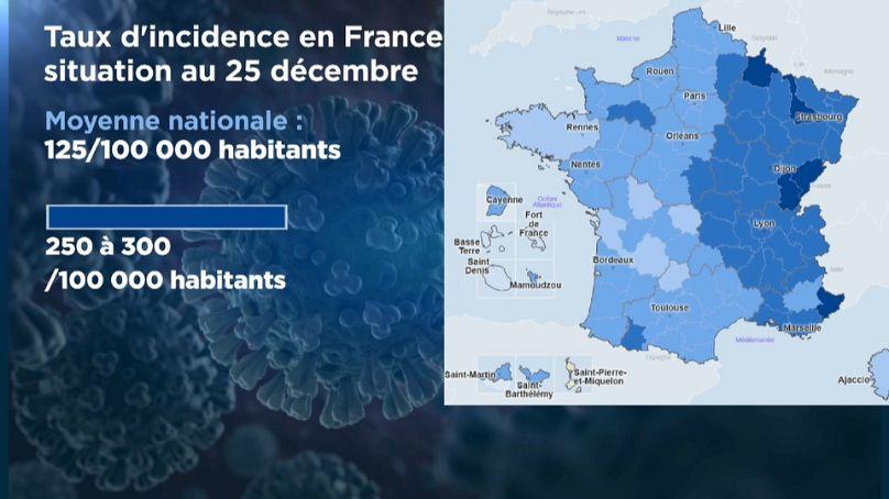 Euronews/ données Santé Publique France