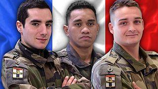 Soldados franceses mortos no Mali