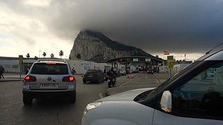 Paso fronterizo entre España y Gibraltar