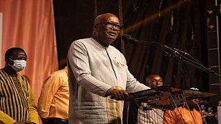 Le président Kaboré promet le retour de la sécurité