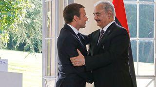 Fransa'dan Halife Hafter'i siyasi bir çözüme odaklanmaya çağırdı
