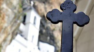 Отсрог - действующий сербский православный монастырь в Черногории
