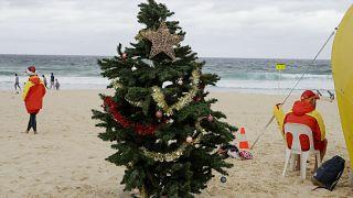 Bondi Beach il giorno di Natale, una delle più famose spiagge di Sidney