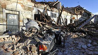 Ζάγκρεμπ, λίγο μετά τον σεισμό