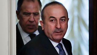 وزرای خارجه روسیه و ترکیه