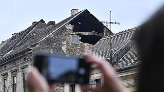 Sisakon is házak rogytak össze