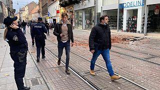 Al menos un muerto en un terremoto de escala 6,2 en Croacia