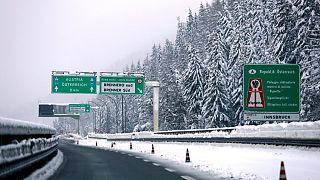 La neve al Brennero