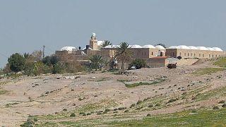 مقام النبي موسى في منطقة أريحا بالضفة الغربية