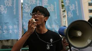 former Studentlocalism leader Tony Chung