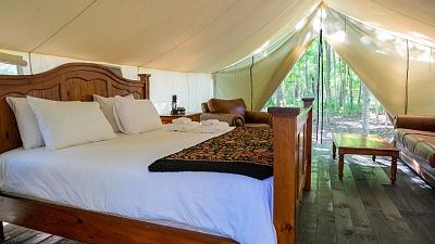 Glamping is the new travel trend for 2021