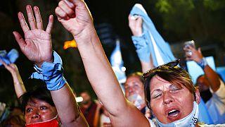 Διαδήλωση στο Μπουένος Άιρες υπέρ των αμβλώσεων
