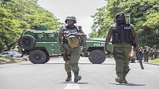 Zambia's President dismisses 2 policemen following the death of two protesters