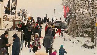 Tagesausflügler in Winterberg