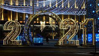 Η γιορτινή Μόσχα προσμένει το νέο έτος