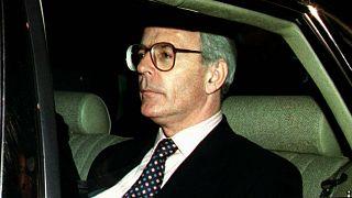 رئيس وزراء بريطانيا السابق جون ميجور