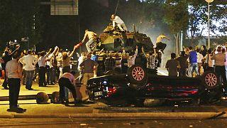 درگیریهای خیابانی مرتبط با کودتای نافرجام سال ۲۰۱۶ در آنکارا، پایتخت ترکیه