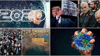 أبرز أحداث العام 2020