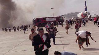 انفجار در فرودگاه عدن