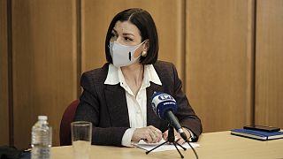 Η Αρ. Πελώνη, αναπληρώτρια κυβερνητική εκπρόσωπος της Ελλάδας