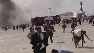 В Йемене обстреляны аэропорт и дворец президента