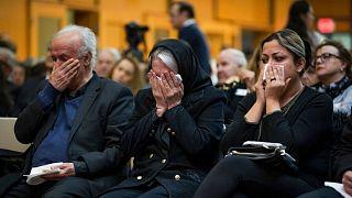 خانواده قربانیان هواپیمای سرنگونشده اوکراینی