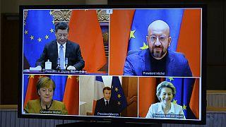 نشست مجازی رهبران اروپا و رئیس جمهوری چین