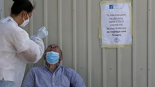 Φωτό αρχείου - Τεστ για covid στην Κύπρο