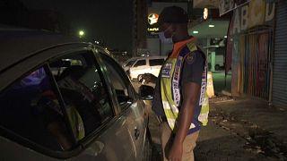 police in Johannesburg